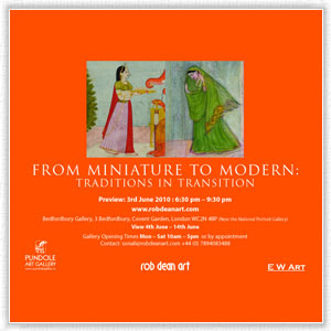 FROM MINIATURE TO MODERN:TRADITIONS IN TRANSITION